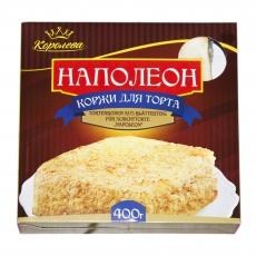 Tortenboden für Torte Коржи Наполеон