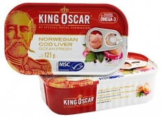Dorschleber King Oskar Norwegen 121g