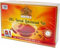 Tee Impra Ceylon Pure 100Btlx1,5g mit Band