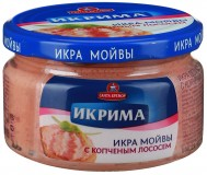 Ikrima Capelin Kaviar-Creme 165g ger. Lachsstueck