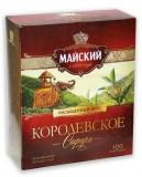Schwarzer indischer Tee Korolewskoje Safari 100Btl.