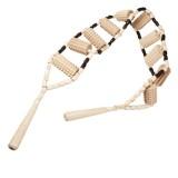 Rücken Massagerollband aus Holz