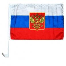 Autoflagge Russland 30x45cm,mit Adler