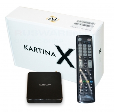 Kartina TV X DUNE HD IPTV Receiver