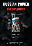 Russian Power energie Drink