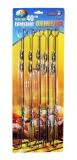 Grillspiess Edelstahl 40 cm. 10 St. Set Шампуры