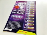Diamant-Los 100.000€ Spitzengewinn von WestLotto