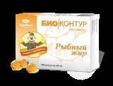 Fischöl in Kapseln 100 St Omega-3 Рыбий жир